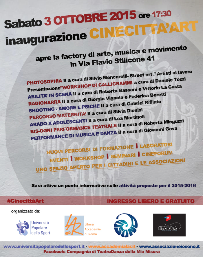 CINECITTA'ART
