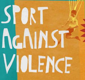 sport aginst violence logo